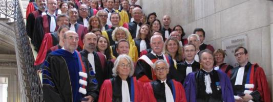 Cérémonie de remise des insignes de Docteur Honoris Causa 2015