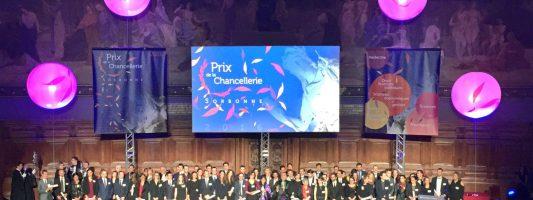 Cinq lauréats aux prix de la Chancellerie des universités 2016
