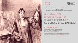 Les inégalités professionnelles femmes et hommes : au bureau et au barreau @ Faculté de Droit Paris Descartes | Malakoff | Île-de-France | France