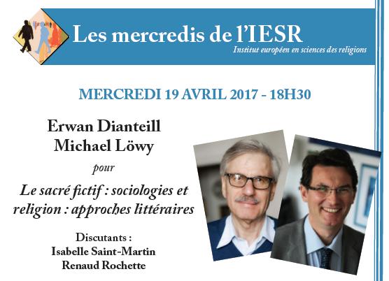 [Les mercredis de l'IESR] Rencontre avec Erwan Dianteill & Michael Löwy pour « Le sacré fictif »
