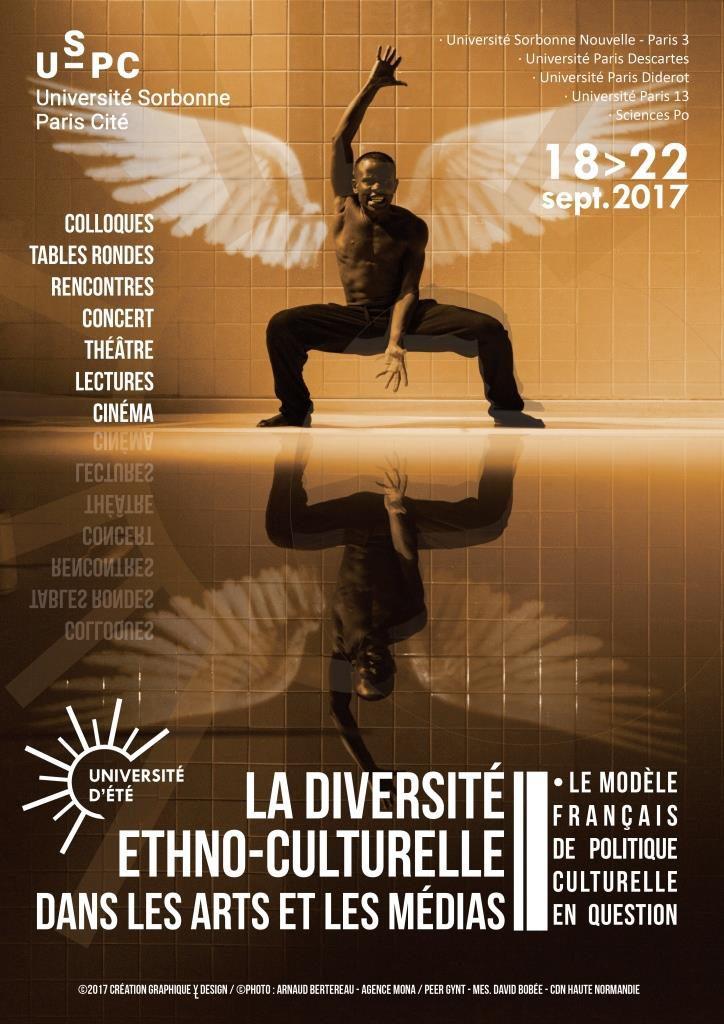 2ème université d'été d'USPC: La diversité ethno-culturelle dans les arts et les médias - le modèle français de politique culturelle en question