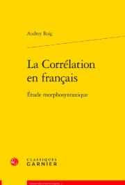 La corrélation en français