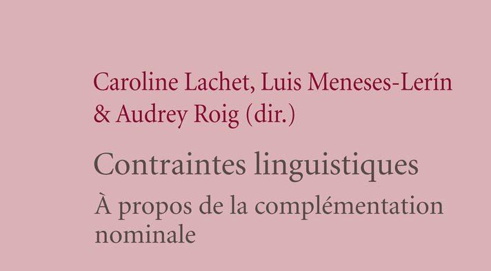 Les Contraintes linguistiques
