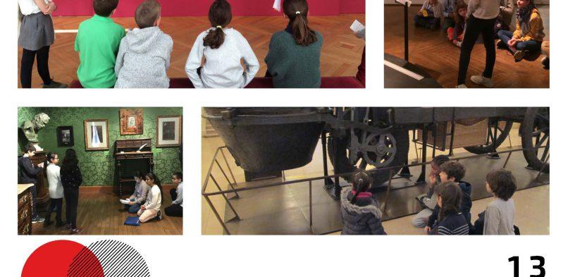JE : Enfants conférenciers, médiations et apprentissages scolaires en contexte muséal