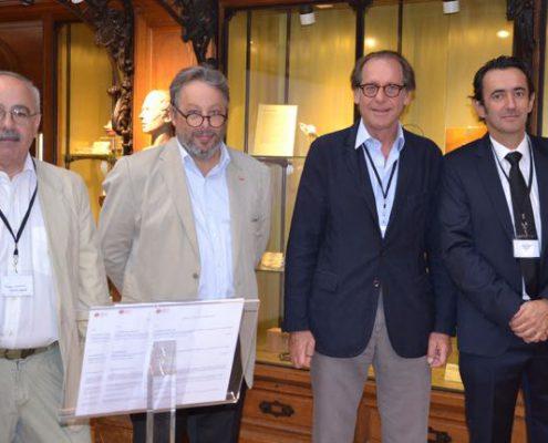 Georges Bismuth, Frédéric Dardel, Gérard Friedlander, Dimitri Verza
