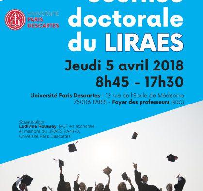 2ème journée doctorale du LIRAES