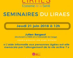 Les séminaires du LIRAES – Jeudi 21 juin 2018 à 12h00  Exemplaire
