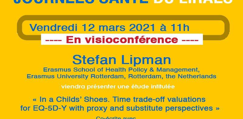 Les séminaires du LIRAES – Vendredi 12 mars 2021 à 11h en visio