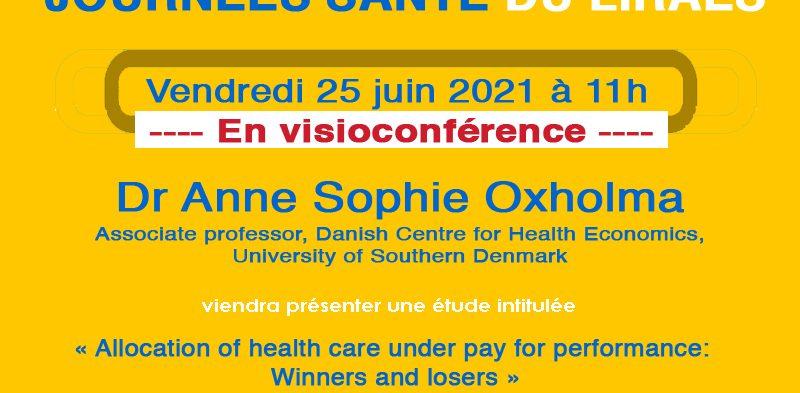 Les séminaires du LIRAES – Vendredi 25 juin 2021 à 11h en visio