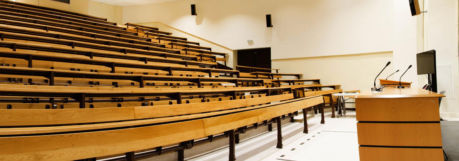 location salle universite paris descartes