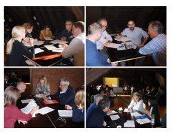 The MiRoR consortium meets the 15 research fellows