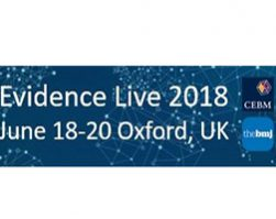 My experience at Evidence Live 2018