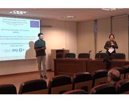 Project output – seminar by one of our fellows in Madrid