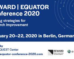 REWARD/EQUATOR Conference 2020