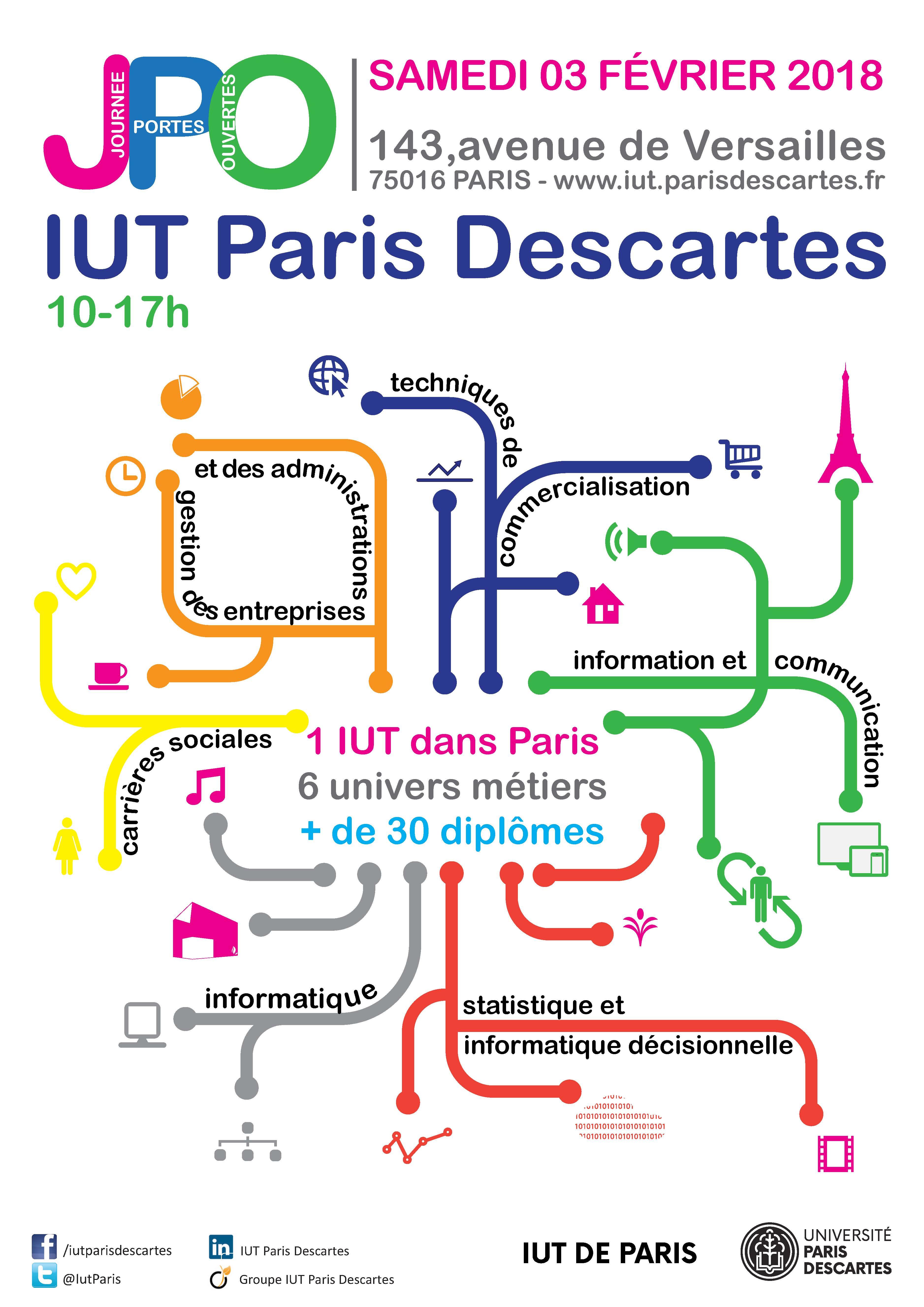 JPO 2018 IUT Paris Descartes